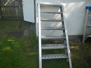 heavy duty welded aluminum steps
