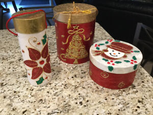 Decorative Christmas Containers