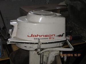 5-1/2 HP Johnston OB motor