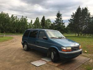 1993 Dodge Caravan Minivan, Van