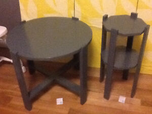 Assorted side tables