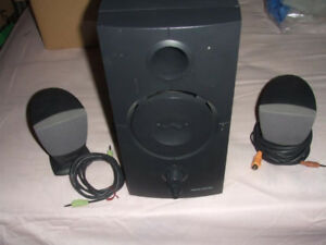 Great speakers for desktop computer or stereo system