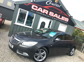 VAUXHALL INSIGNIA 2.0CDTi 16V SRi 6SPD MANUAL LOW MILES FINANCE & PARTX WELCOME