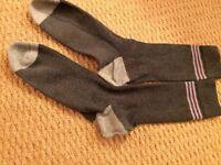 Grey men socks