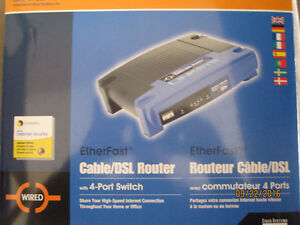 LINKSYS CABLE/DSL ROUTER SWITCH