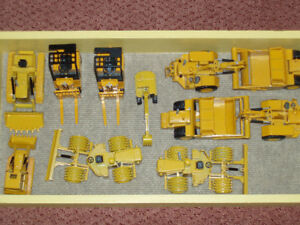 Vintage Diecast Caterpillar Models from the 70's