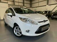 2012 Ford Fiesta 1.25 Zetec 5dr A/C, White, only 36,400 from new, FSH, Bluetooth