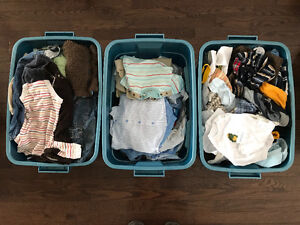 Boy's clothes 0-6 months