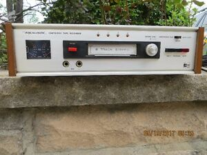 8 track player cassette 60`s 70`s music Realistic Pioneer Sony