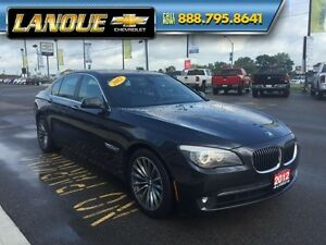 2012 BMW 7 Series 750i   WOW... LOW KMS!!  BEAUTIFUL CAR Windsor Region Ontario image 10