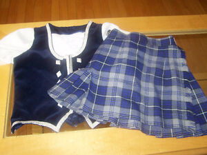 highland dance kilt and vest