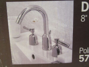 NEW  Bathroom faucet Tap high-end Porcher Polished-Chrome