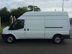 2009 59 FORD TRANSIT 350 2.4 115 LONG WHEEL BASE HIGH ROOF VAN *NO VAT*