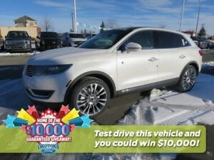 2018 Lincoln MKX Reserve 2.7l GTDI v6 with driver assistance...