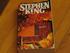 STEPHEN KING   / ROSE    MADDER / littérature auteur roman