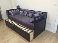 For sale... IKEA DayBed- Single+Double, In good condition. With 2 mattresses £199