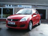 2013 (62) Suzuki Swift 1.2 SZ2 3d **£30 Tax**