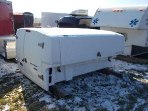 "Used 8' Long Box Spacekap ""Compak"" Service Canopy Topper"