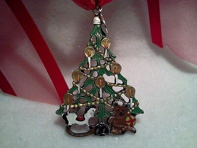 GERMAN PEWTER ORNAMENT TOYS BY THE TREE GIFT BOXED-MADE IN CZECH