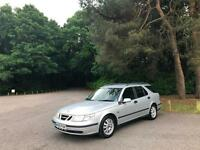 2005 Saab 9-5 2.2TID Linear 5 Door Estate Silver
