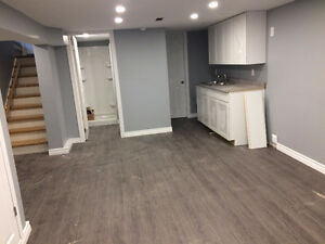 One Bedroom Basement