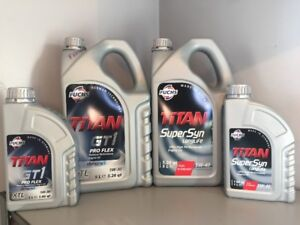 FUCHS ENGINE OILS - FULLY SYNTHETIC 100%