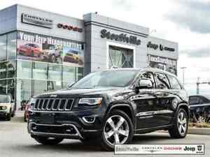 2016 Jeep Grand Cherokee Overland With Hemi V8, Only 31,300 KMS