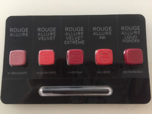 Authentic Brand New Chanel Rouge Allure Lipsticks SAMPLES