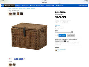 Large ikea basket, save on shipping. New with tag.
