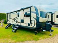 Forest River Rockwood 2608SB Travel Trailer American Caravan Static Showmans