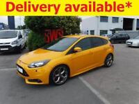 2013 Ford Focus ST-3 Turbo 2.0 DAMAGED REPAIRABLE SALVAGE