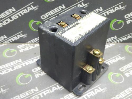 USED Durakool 3030APS120AC Industrial Control Contactor 30A 480 VAC 120VAC Coil