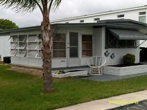 2 Bedroom mobile home in 55+ gated park Port Richey FL