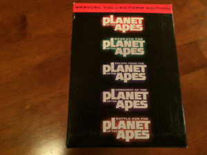 Special Collectors Edition VHS Planet of the Apes movies.