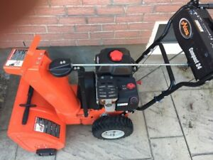 Snow Blower & Lawnmover for sale
