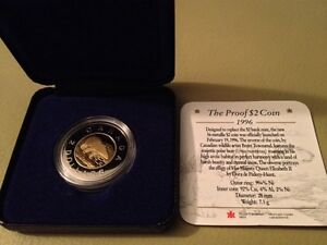 1996 Proof $2.00 coin