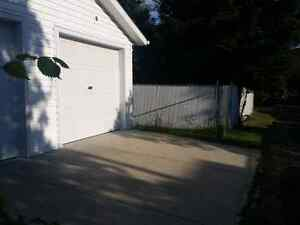 Greenfield 12 x24 garage for rent.