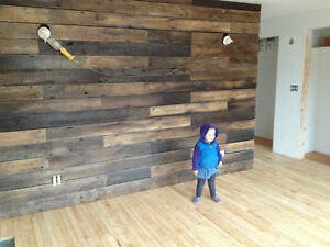Barn Board Accent Walls - Reclaimed Accent Walls Kitchener / Waterloo Kitchener Area image 4