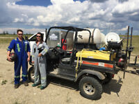 Weed spraying - Industrial yards and commercial