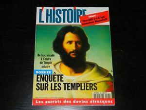 L'HISTOIRE N 198 / 1996 DOSSIER ENQUÊTE SUR LES TEMPLIERS