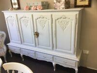 Stunning French shabby chic dresser