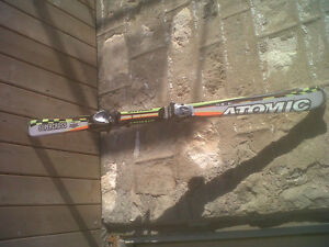 """SX-6 ATOMIC """"140"""" Supercross  Downhill Skis With Bindings $80"""