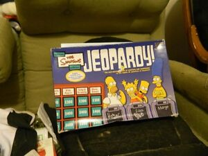 simpsons jeopardy Stratford Kitchener Area image 1
