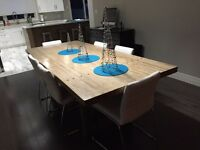 Custom Bowling Alley Furniture (Harvest Table)