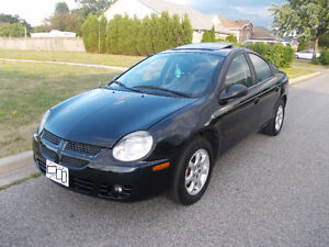 2004 Dodge Neon SX only 128000 KM certified and E-test