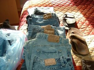 american eagle denims size 32waist leg length32 mens