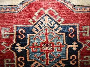 TAPIS Afghan pure laine