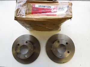 Audi 1983-1991 Zimmermann Rear Brake Discs. 437615601
