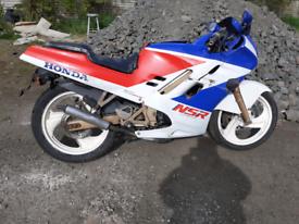 Honda nsr 125 r k bugeye 1990