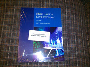 ETHICAL ISSUES IN LAW ENFORCEMENT 3RD EDITION TEXT 4 SALE NEW